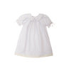Ashby Heirloom Dress - Worth Avenue White with Palmetto Pearl