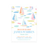 Birthday Invitations - Sandyport Sailboats