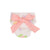 Baby Bow Bottom Bloomers - Old South Snapdragon with Sandpearl Pink