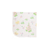 Baby Buggy Blanket - Old South Snapdragon with Worth Avenue White