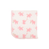 Baby Buggy Blanket - Precious Peanut with Plantation Pink