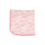 Baby Buggy Blanket - St. Simon's Sailboat (pink) with Hamptons Hot Pink