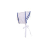 Barringer Bonnet - Worth Avenue White with Rockefeller Royal Blue