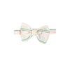 Baylor Bow Tie - Rainbow Row Stripe