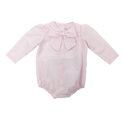 Beatrice Bow Blouse - Plantation Pink
