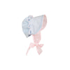 Beaufort Bonnet - Buckhead Blue with Pinckney Pink Stripe