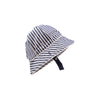 Beaufort Bucket - Nantucket Navy Stripe