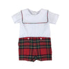 Beauregard Button-Ins - Worth Avenue White with Society Prep Plaid