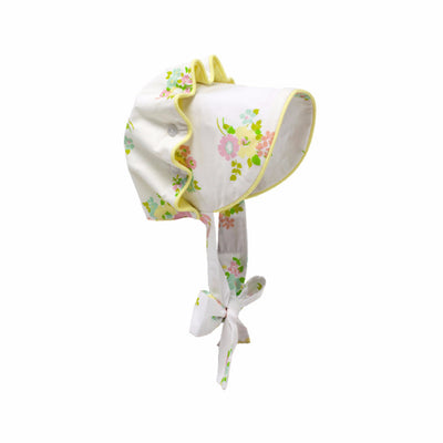Bellefaire Bonnet - Biltmore Bouquet with Seaside Sunny Yellow