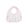 Bellyful Bib - Rockabye Ribbons with Palm Beach Pink