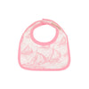 Bellyful Bib - St. Simon's Sailboat (pink) with Hamptons Hot Pink