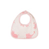 Bellyful Bib - Precious Peanut with Plantation Pink