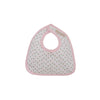 Bellyfull Bib - Port Royal Rosebud with Plantation Pink