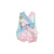 Betsey Bow Back Set - Preppy Pastels