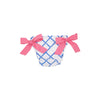 Beverly Bow Bloomer - Bamboo Proverbs with Hamptons Hot Pink