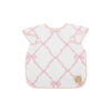 Big Bite Bib - Belle Meade Bow with Palm Beach Pink