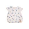 Big Bite Bib - Seaside Stork with Worth Avenue White