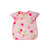 Big Bite Bib - Summershade Strawberry with Hamptons Hot Pink