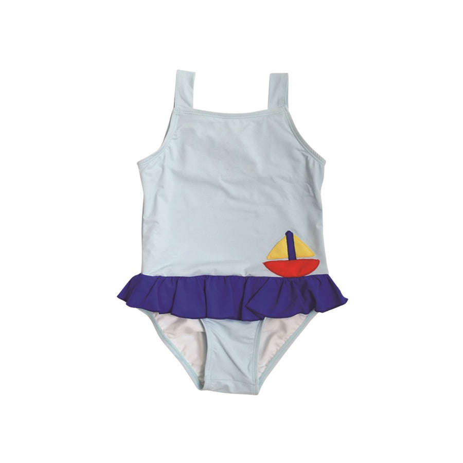6d914197318 Boothbay Bathing Suit - Buckhead Blue   Rockefeller Royal with Sailboat    Sun ...