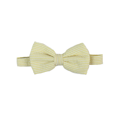 Baylor Bow Tie - Seaside Sunny Seersucker