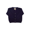Cambridge Cardigan - Nantucket Navy with Tortoise Buttons (unisex)