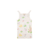 Caroline Camisole - Old South Snapdragon with Worth Avenue White