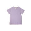 Carter Crewneck (with pocket) - Lauderdale Lavender with Marietta Mint Stork