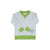 Boy's Cassidy Comfy Crewneck - Buckhead Blue with Grenada Green Trim and Horse Applique
