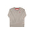 Boy's Cassidy Comfy Crewneck - Grantley Gray with Richmond Red Stork