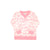 Cassidy Crewneck - St. Simon's Sailboat (pink) with Hamptons Hot Pink