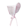 Catesby Country Club Bonnet - Plantation Pink Dixie Dot with Plantation Pink