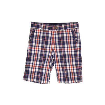 Charlie's Chinos - Planters Inn Plaid with Worth Avenue White Stork