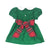 Cindy Lou Sash Dress - Kiawah Kelly Green Corduroy with Society Prep Plaid