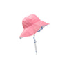 Cissy Sunhat - Hamptons Hot Pink with Bamboo Proverbs