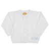 Conrad Cardigan - Worth Avenue White