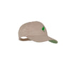 Covington Cap - Keeneland Khaki with Kiawah Kelly Green Gingham