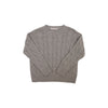 Crawford Crewneck - Greenwich Grey Cable Knit