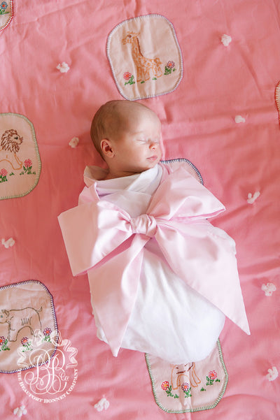 Bow Swaddle <sup>&reg;</sup> - Palm Beach Pink