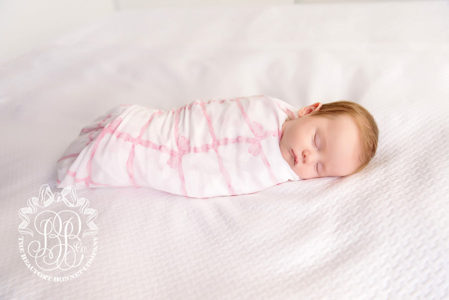 Silent Night Swaddle - Belle Meade Bow