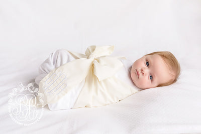Bow Swaddle <sup>&reg;</sup> - Palmetto Pearl