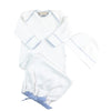 Darling Debut Set - Worth Ave. White with Buckhead Blue