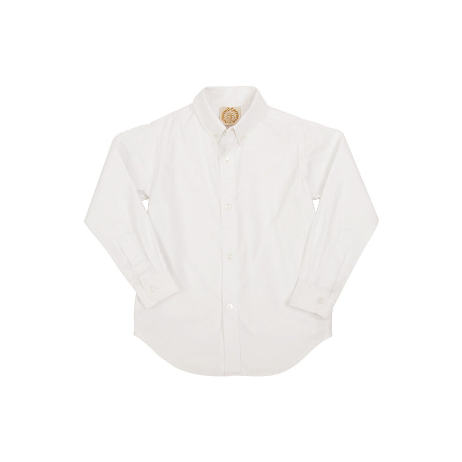 The Dean's List Dress Shirt - Worth Avenue White