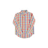 Dean's List Dress Shirt - Pinecrest Plaid with Richmond Red Stork