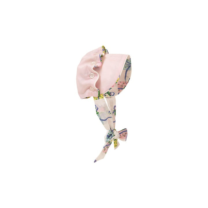 Dolly's Beaufort Bonnet - Plantation Pink with Everyday is a Gift