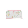 Dolly Sleeping Bag - Old South Snapdragon with Sandpearl