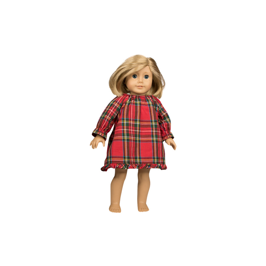 Dolly Nightgown - Partridge Park Plaid
