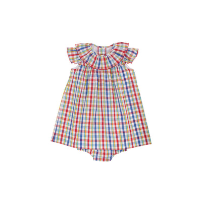 Dorothy Day Dress and Bloomers - Pinecrest Plaid