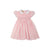 Dottie Hart Dress - Palm Beach Pink with Worth Avenue White
