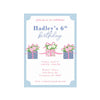Birthday Invitations - We Pink Every Day is a Gift