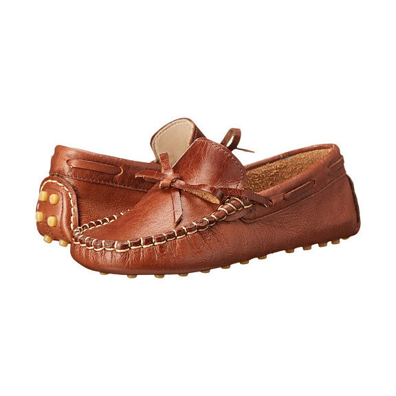 Elephantito Driver Loafers - Apache Cracked Leather